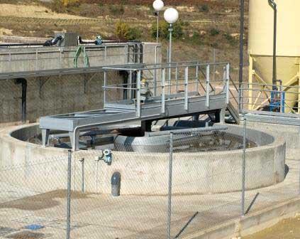Depuradora de agua instalada por Hideco