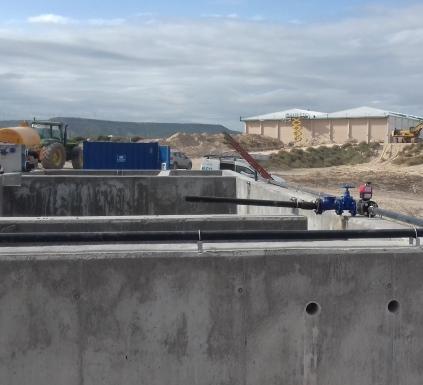Noticias : Depuradoras en ejecución en Campos de Borja - Zaragoza