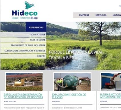 HIDECO, estrena web con el objetivo de seguir mejorando.