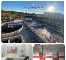 Explotación integral de la estación depuradora de aguas residuales