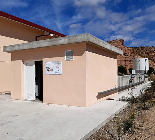 Depuradora de agua residual iindustrial en Bodega Cooperativa Nuestra Señora de Vico