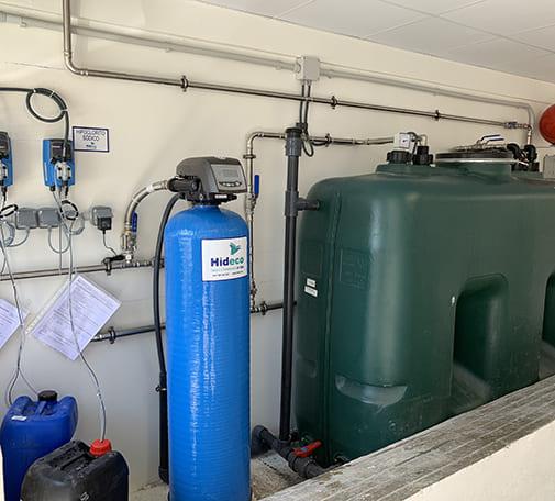 Estación de tratamiento de agua potable E.T.A.P. Bodegas Finca La Emperatriz