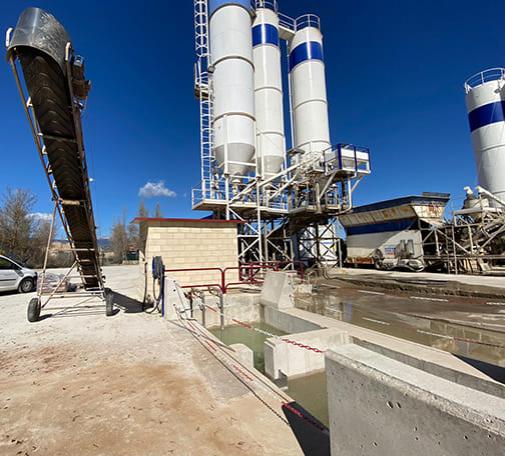 Tratamiento de agua industrial para su reutilización