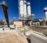 Reutilización y tratamiento de agua industrial procedente del vertido de la fabricación de hormigón