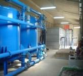 Estación de agua Potable de Entrena 60 m3/h