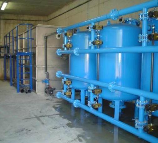 Estación agua potable