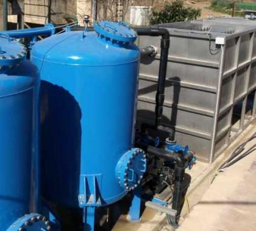 Estación de tratamiento de agua potable