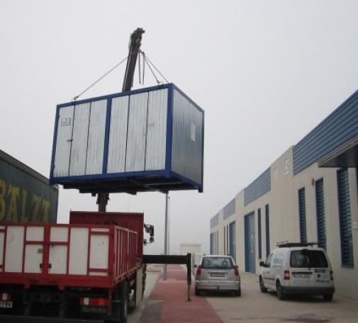 Potabilizadora transportable