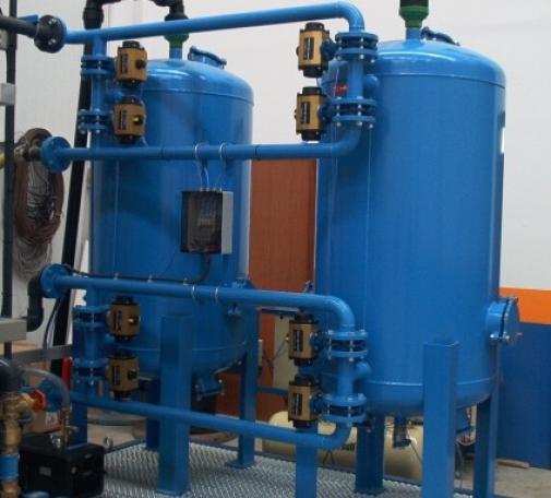 Filtración en lecho mixto