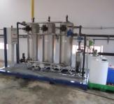Estación de agua potable transportable