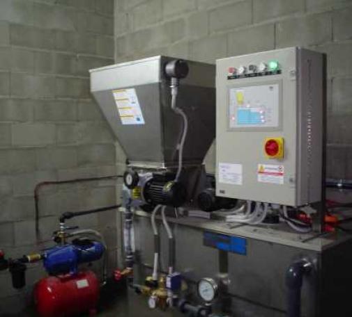 Equipo de preparación de polielectrolito