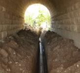 Prolongación de las redes de saneamiento e instalación fosa séptica