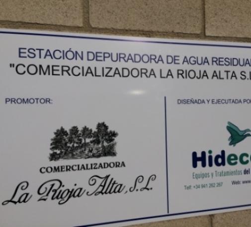 E.D.A.R. Bodegas La Rioja Alta